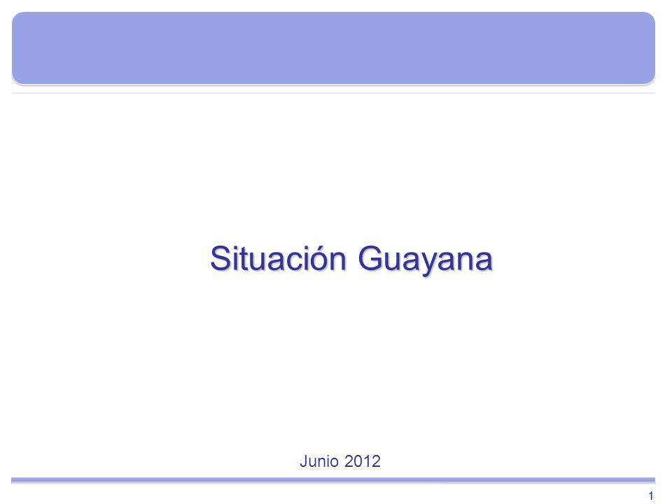 Situación Guayana Junio 2012 1