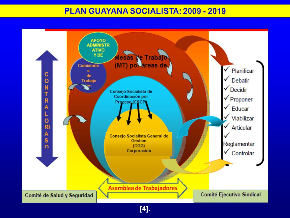 PLAN GUAYANA SOCIALISTA: 2009 - 2019