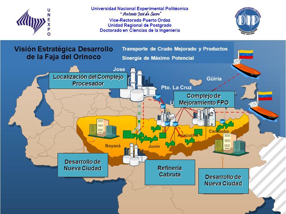 Visión Estratégica Desarrollo de la Faja del Orinoco