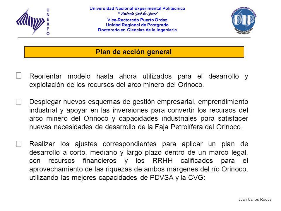  Plan de acción general