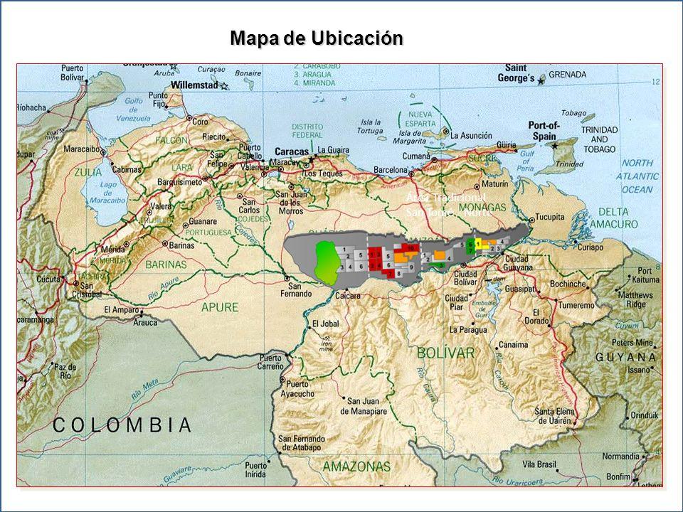 Mapa de Ubicación Área Tradicional San Tomé - Norte