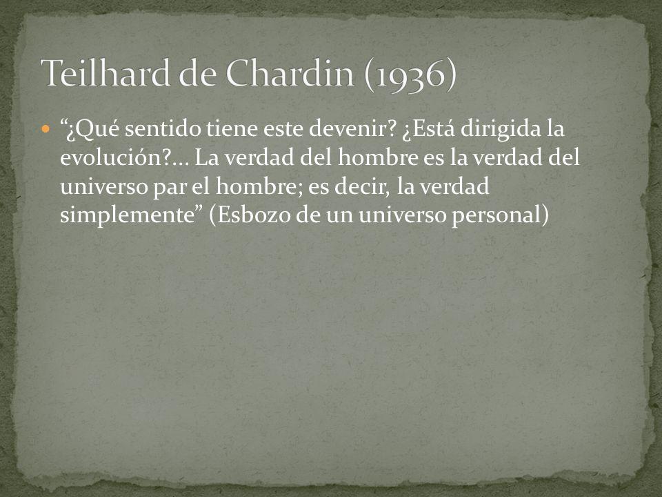 Teilhard de Chardin (1936)