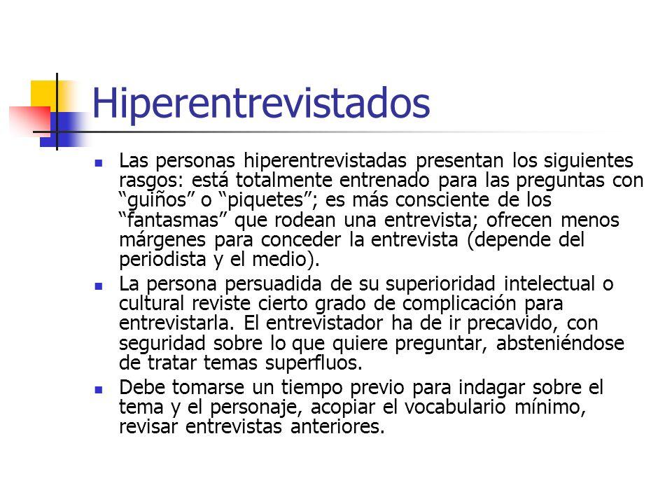 Hiperentrevistados