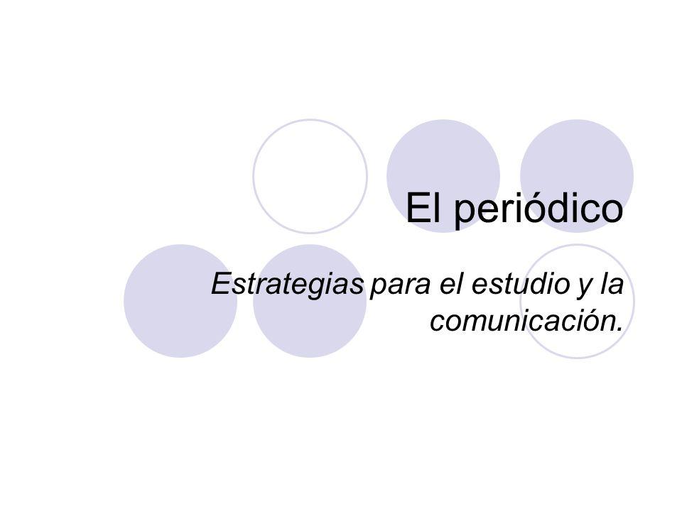 Estrategias para el estudio y la comunicación.