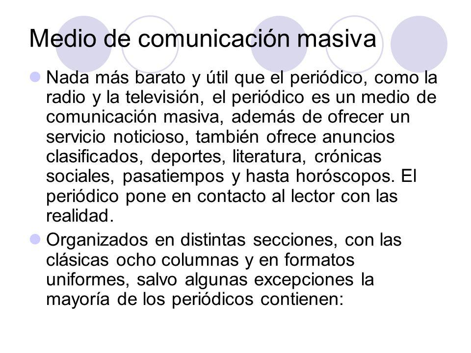 Medio de comunicación masiva
