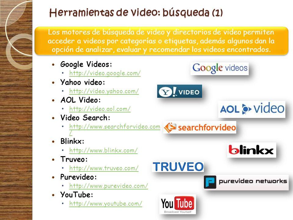 Herramientas de video: búsqueda (1)