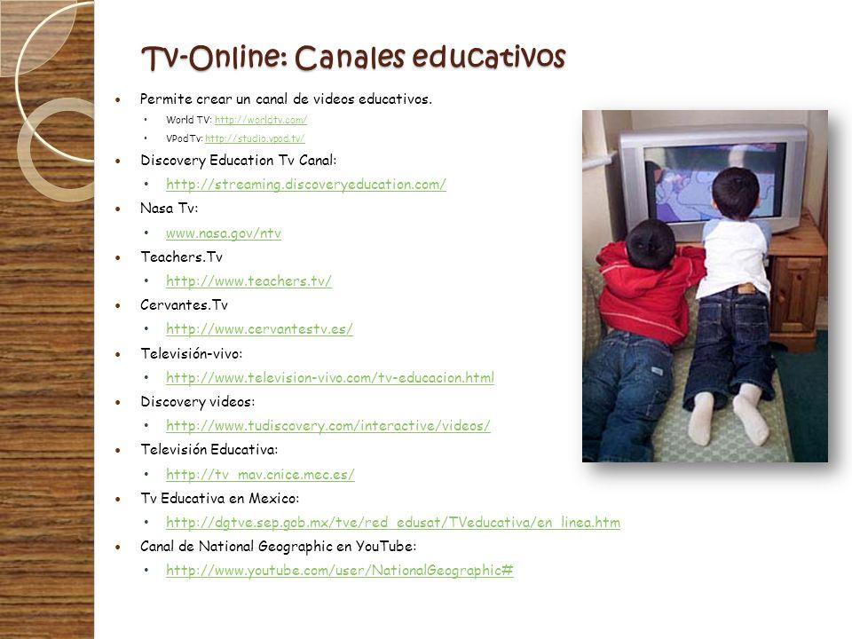 Tv-Online: Canales educativos
