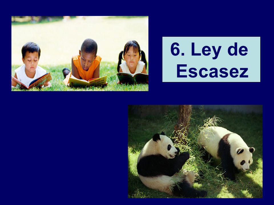 6. Ley de Escasez