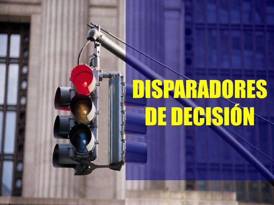 DISPARADORES DE DECISIÓN
