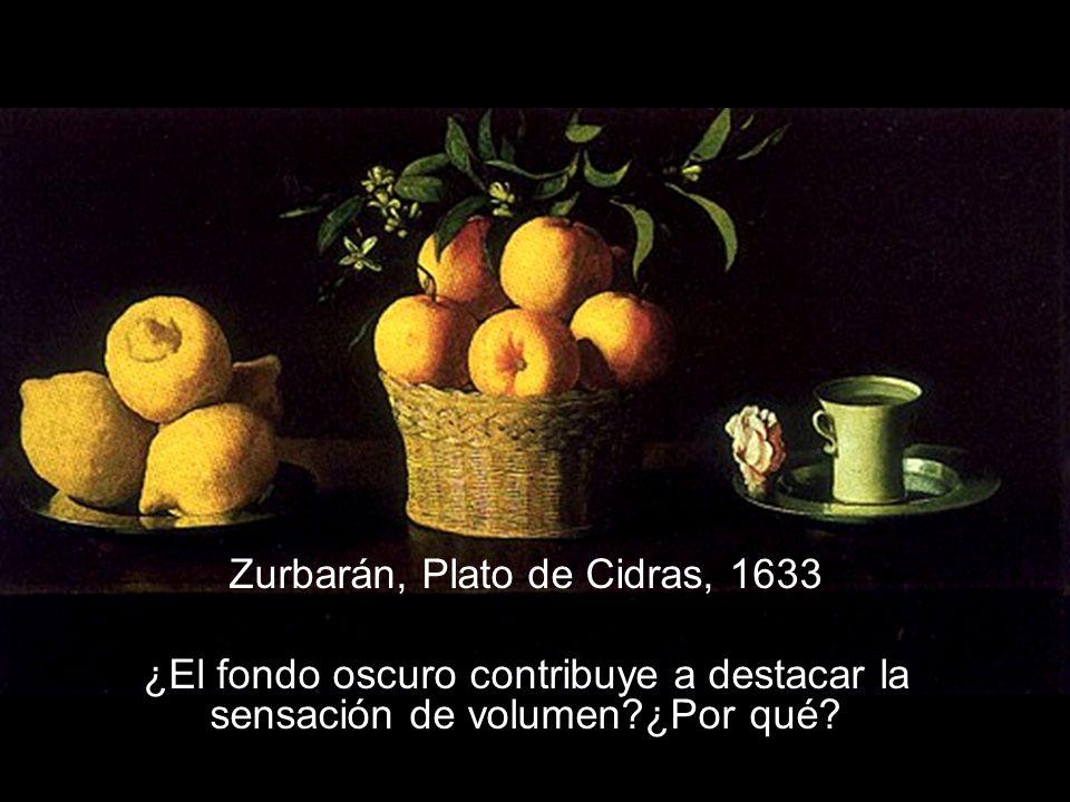 Zurbarán, Plato de Cidras, 1633