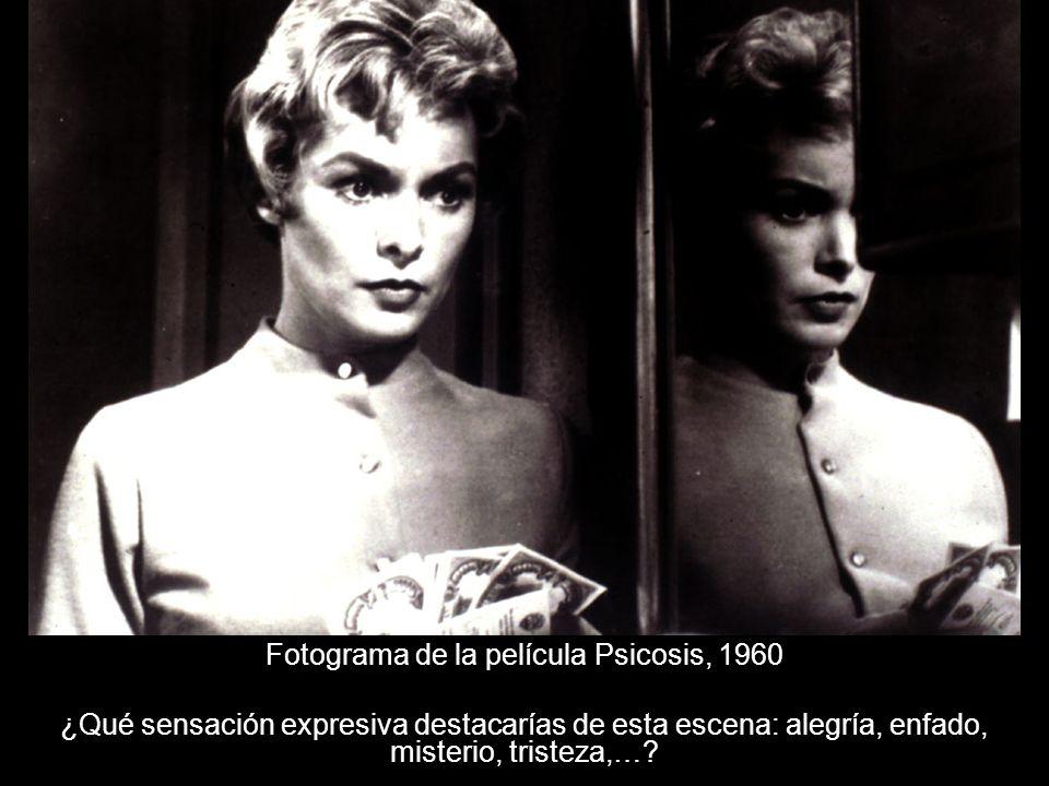 Fotograma de la película Psicosis, 1960