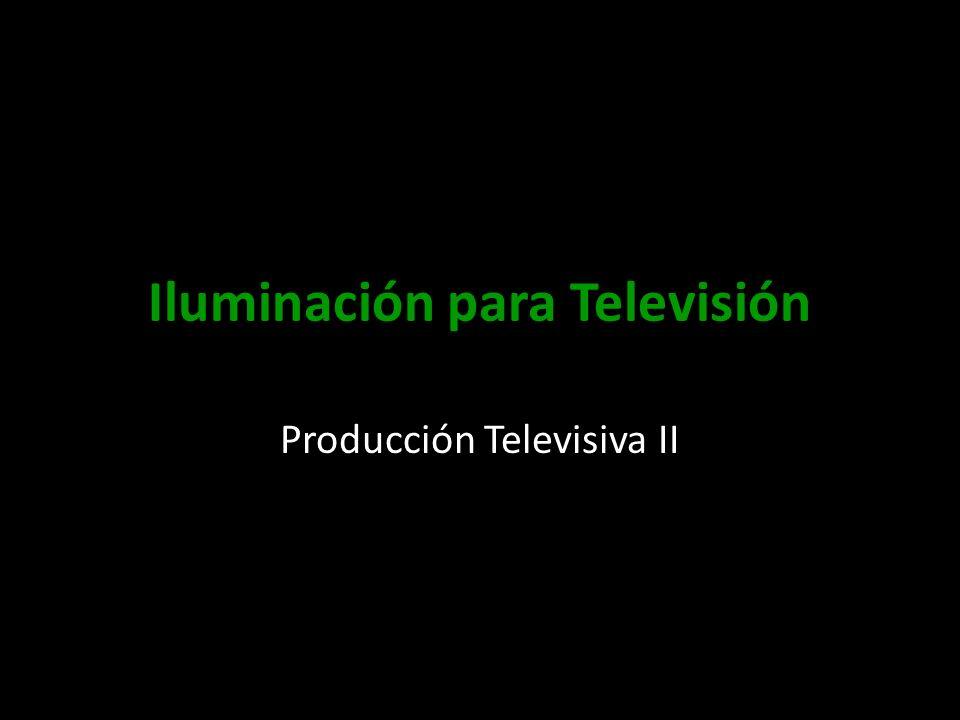 Iluminación para Televisión