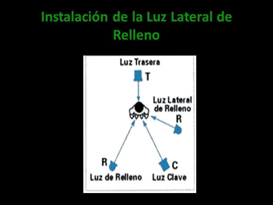 Instalación de la Luz Lateral de Relleno