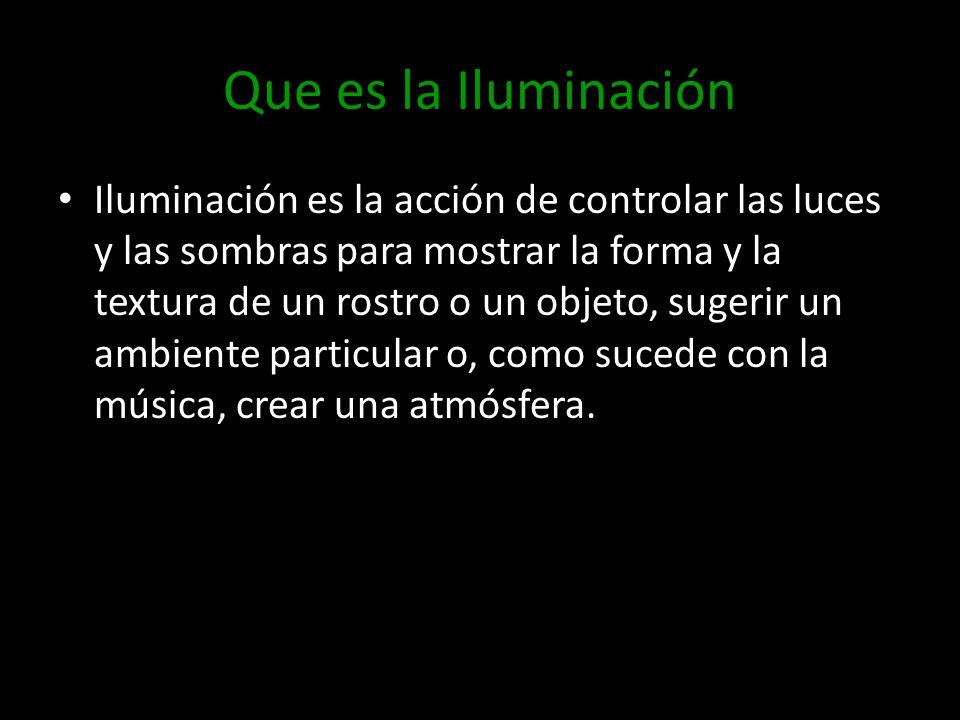 Que es la Iluminación
