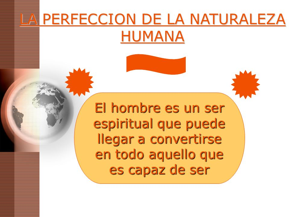 LA PERFECCION DE LA NATURALEZA