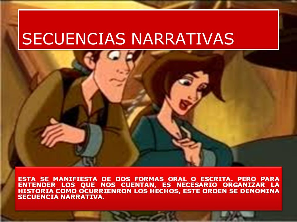 SECUENCIAS NARRATIVAS