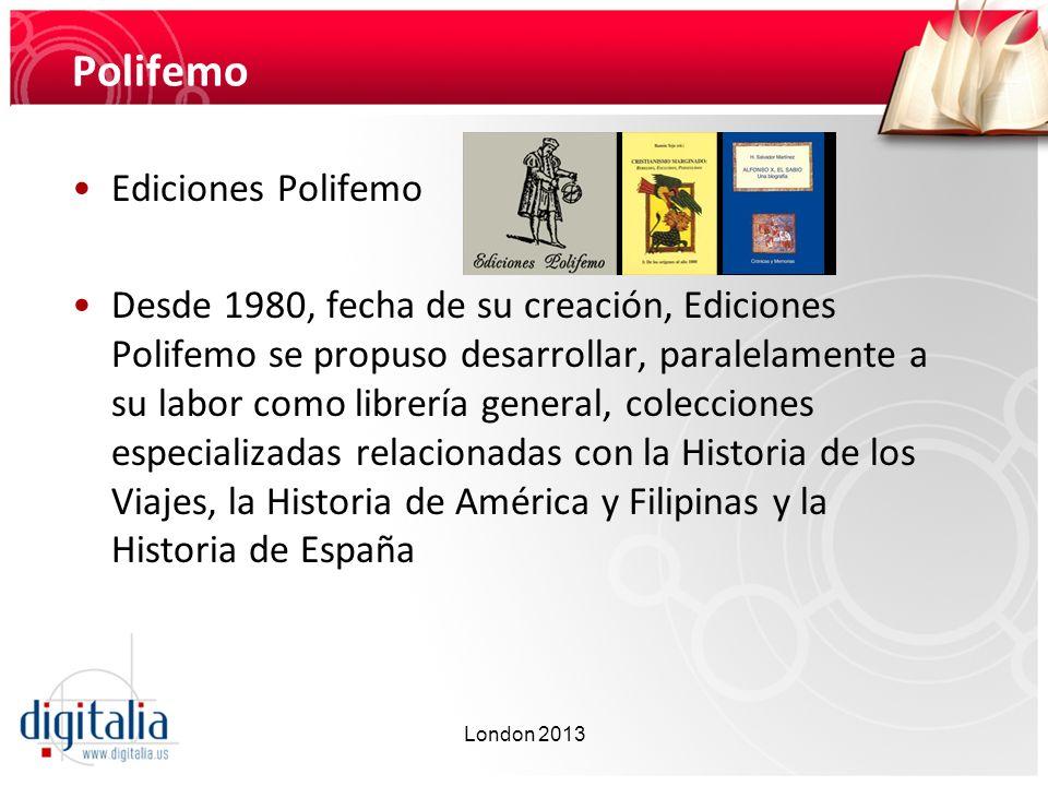 Polifemo Ediciones Polifemo