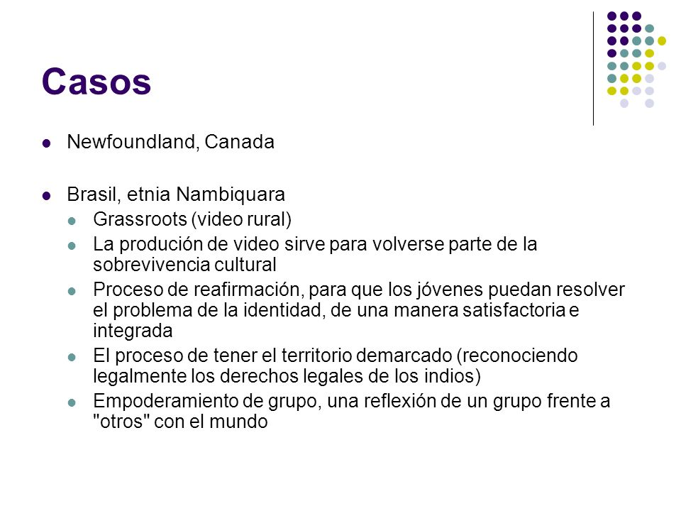 Casos Newfoundland, Canada Brasil, etnia Nambiquara