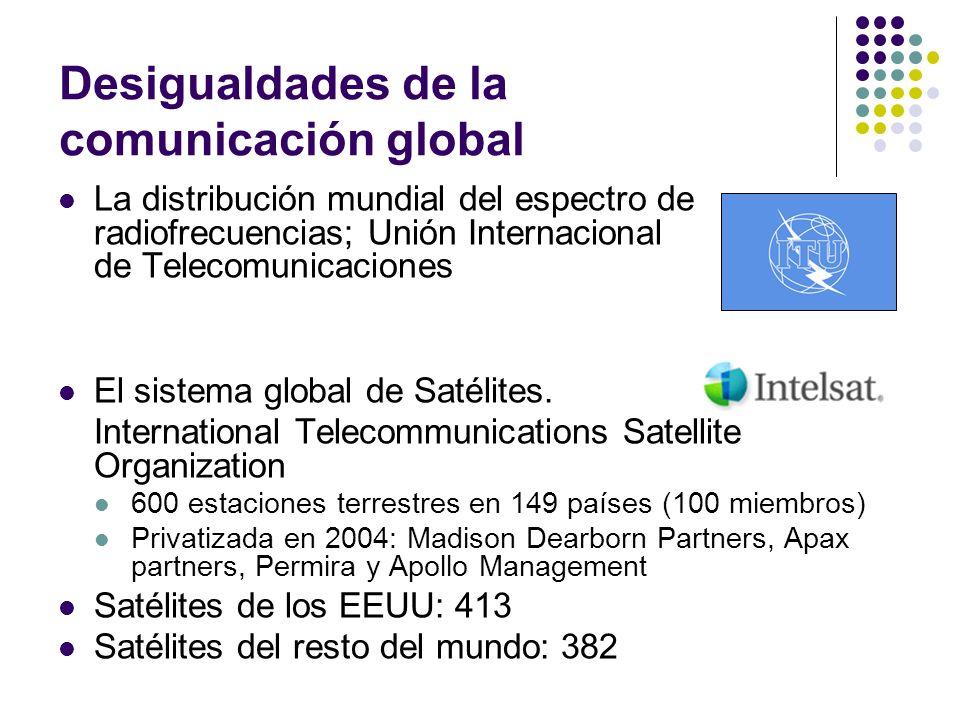 Desigualdades de la comunicación global