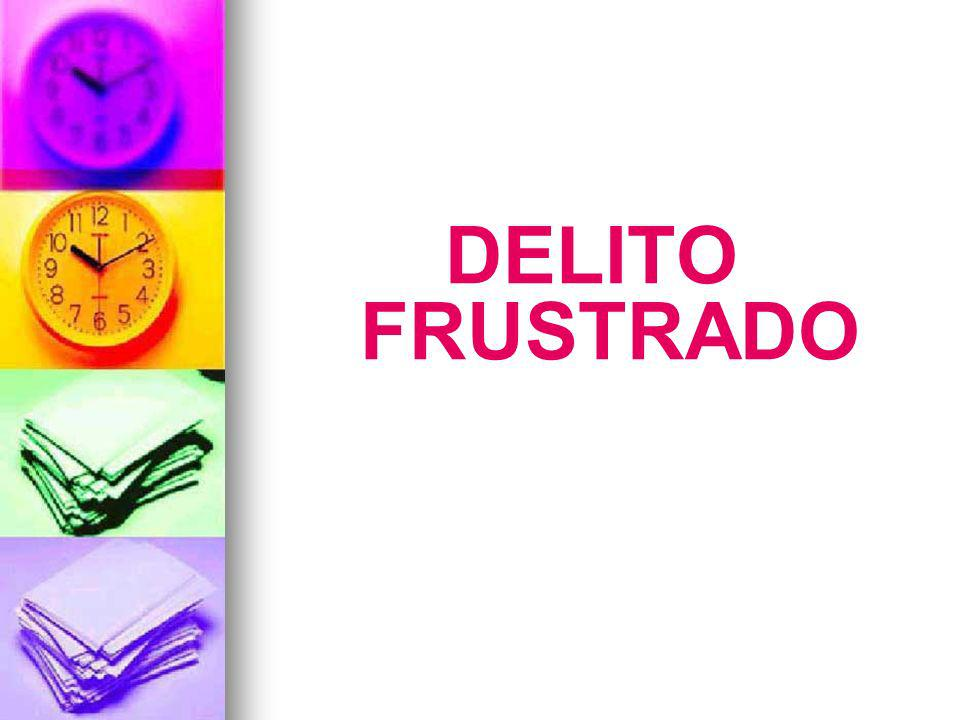 DELITO FRUSTRADO