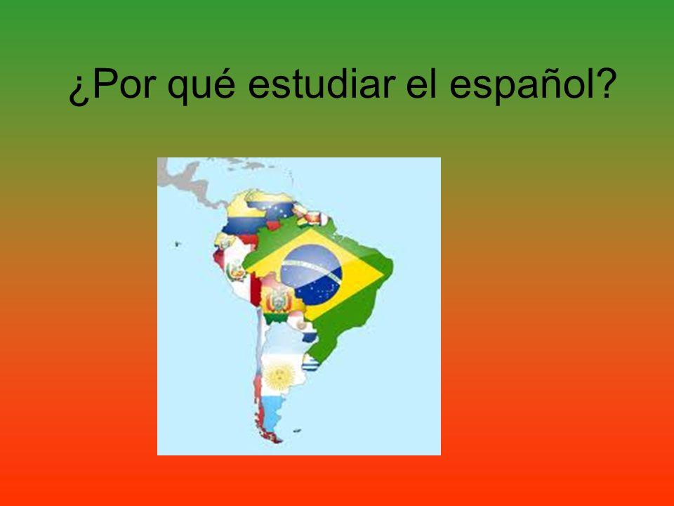 ¿Por qué estudiar el español