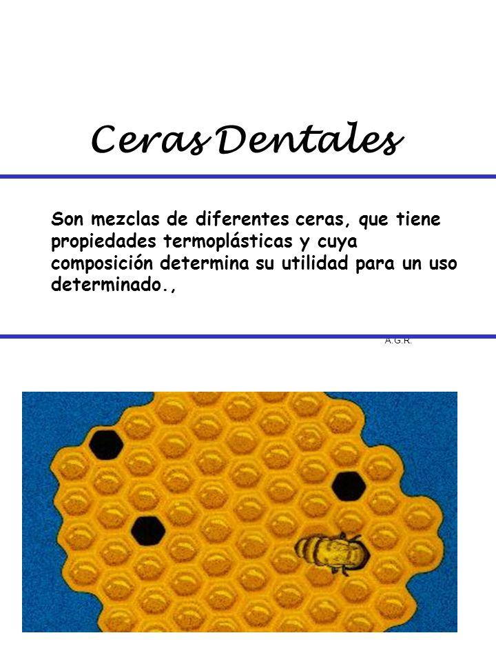 Ceras Dentales