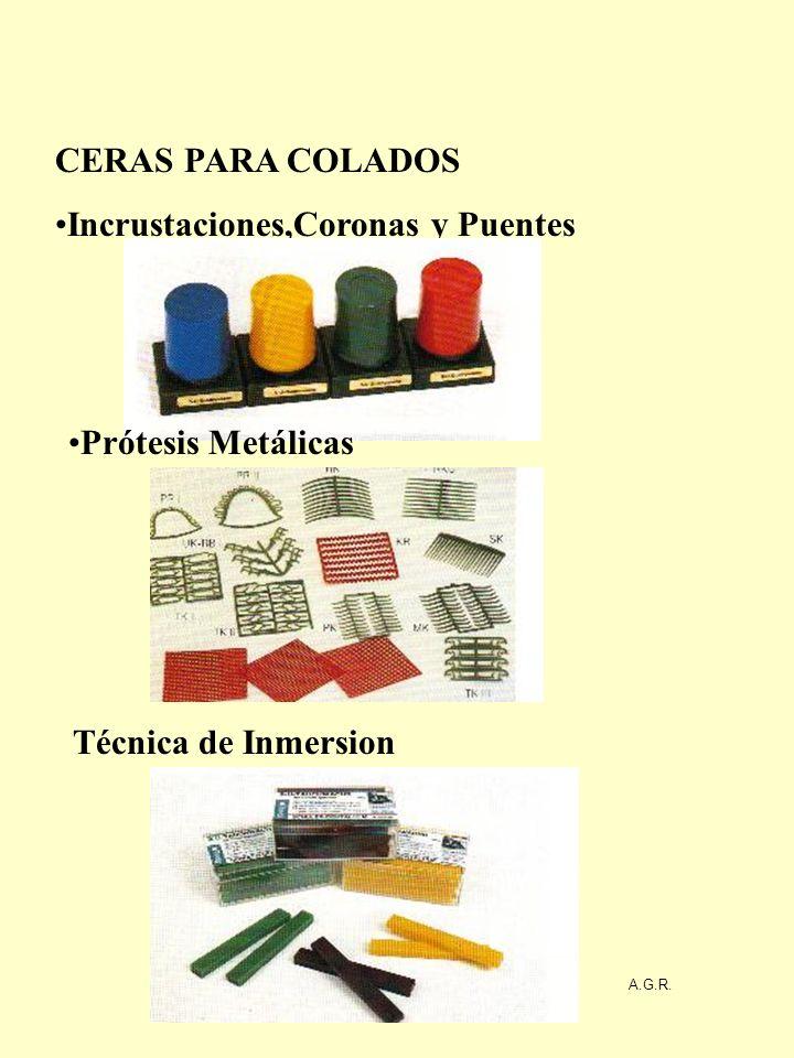Incrustaciones,Coronas y Puentes