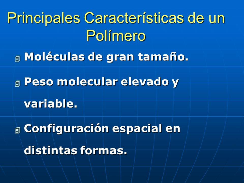 Principales Características de un Polímero