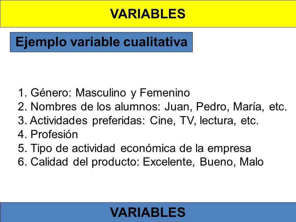 Ejemplo variable cualitativa