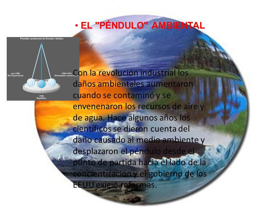 EL PÉNDULO AMBIENTAL