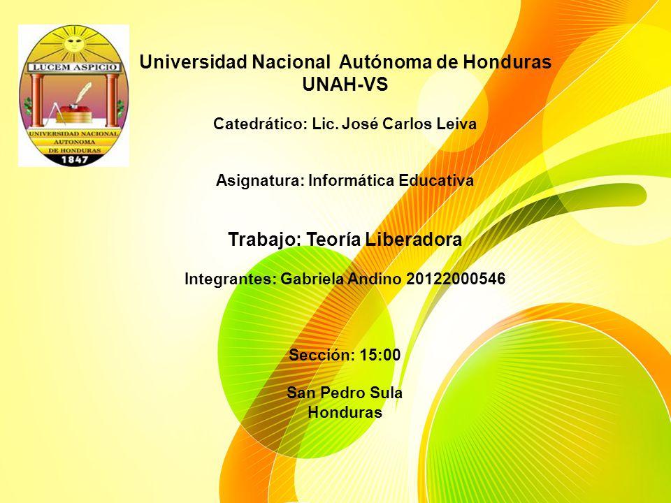 Universidad Nacional Autónoma de Honduras UNAH-VS