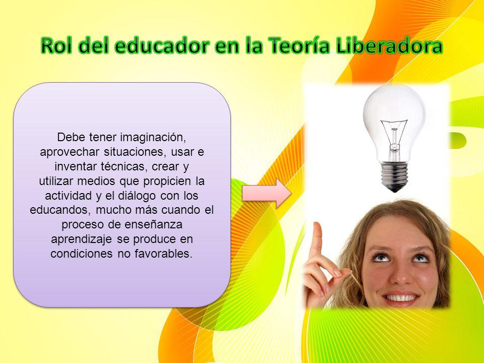 Rol del educador en la Teoría Liberadora
