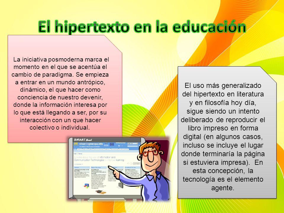 El hipertexto en la educación