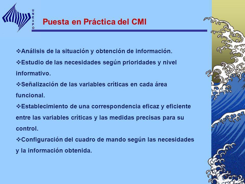 Puesta en Práctica del CMI