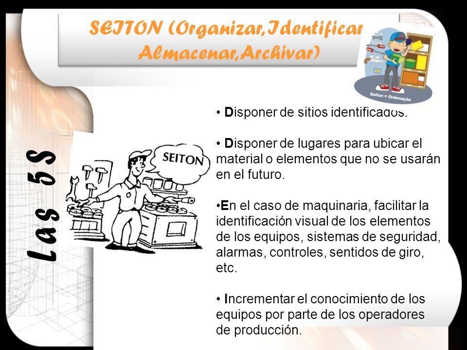 SEITON (Organizar, Identificar,