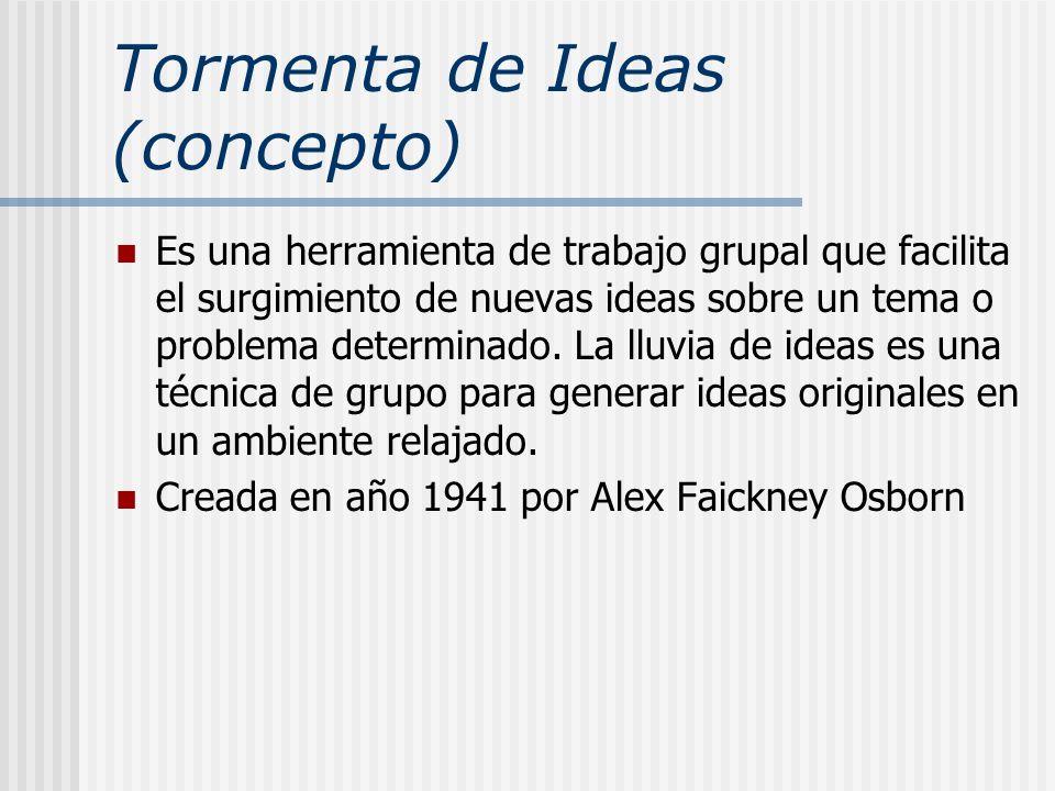 Tormenta de Ideas (concepto)