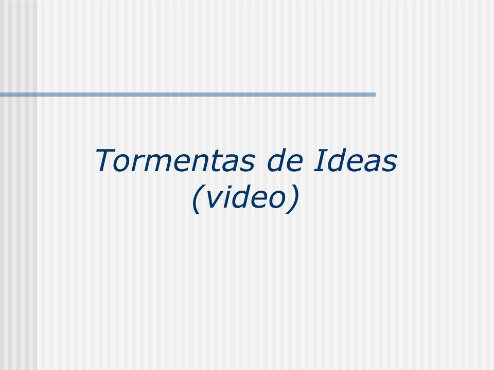 Tormentas de Ideas (video)