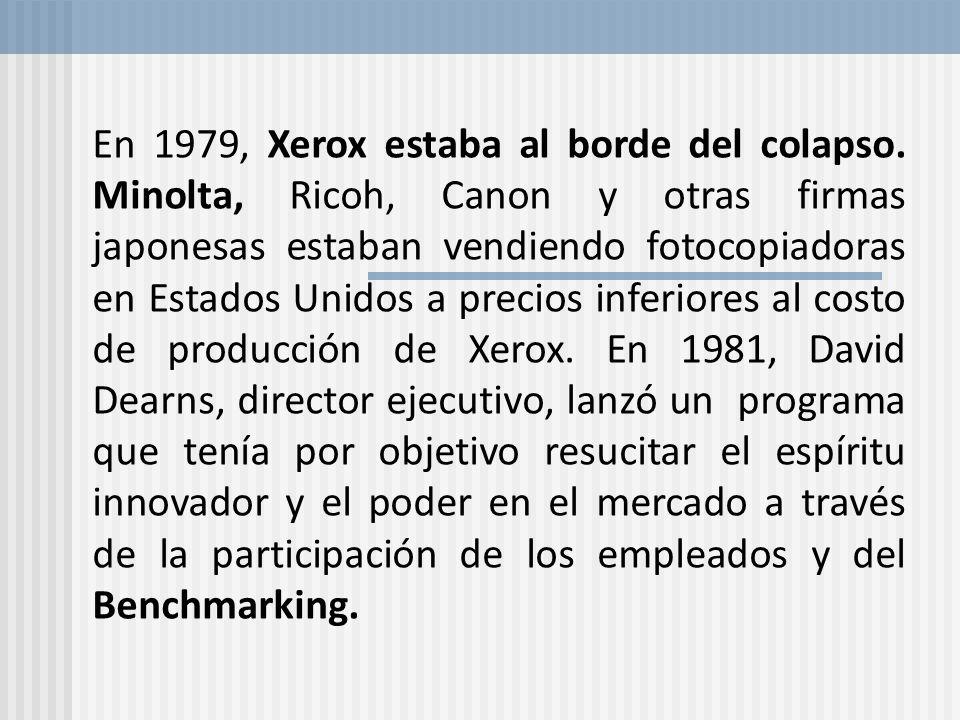 En 1979, Xerox estaba al borde del colapso