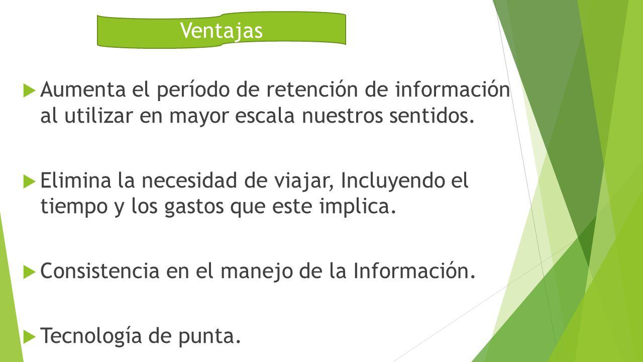 Aumenta el período de retención de información al utilizar en mayor escala nuestros sentidos.