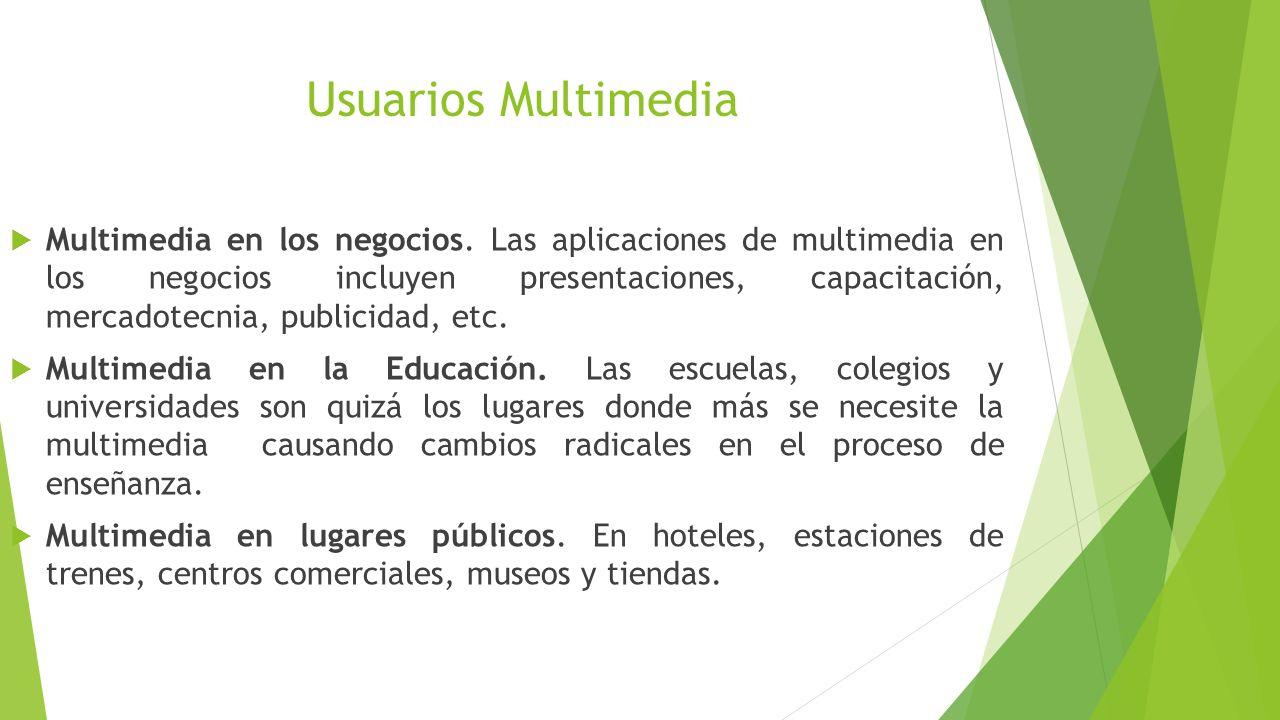 Usuarios Multimedia
