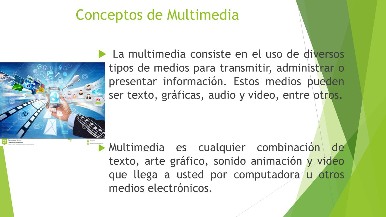 Conceptos de Multimedia