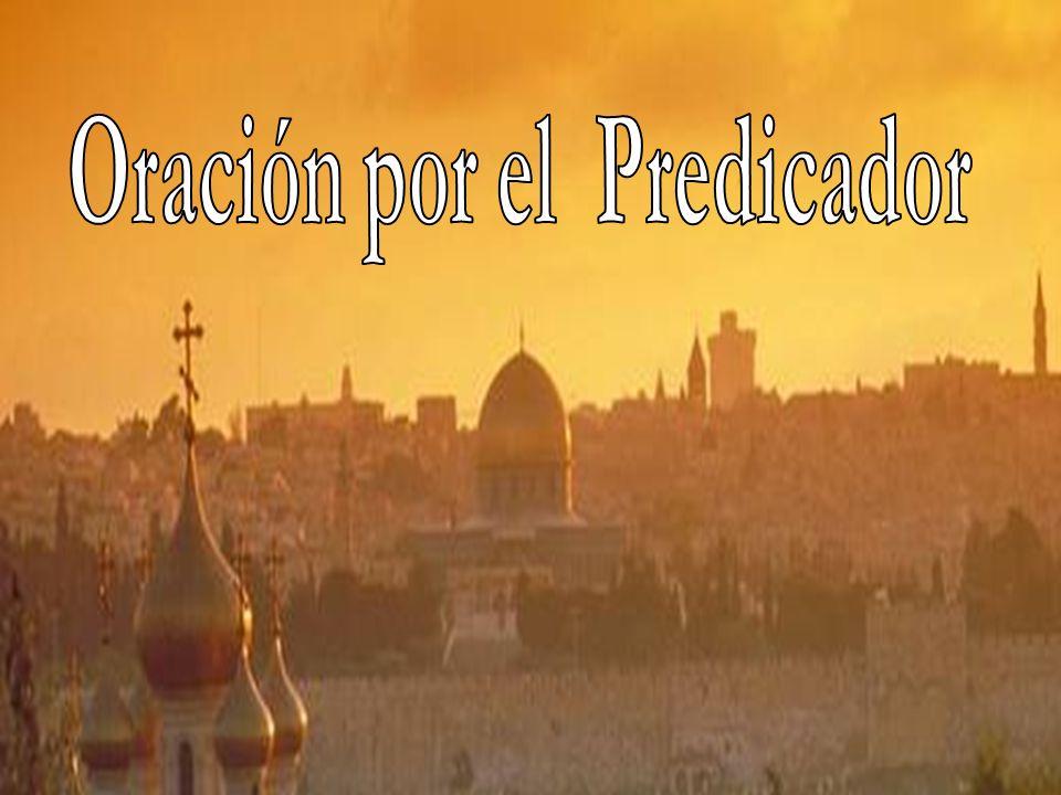 Oración por el Predicador