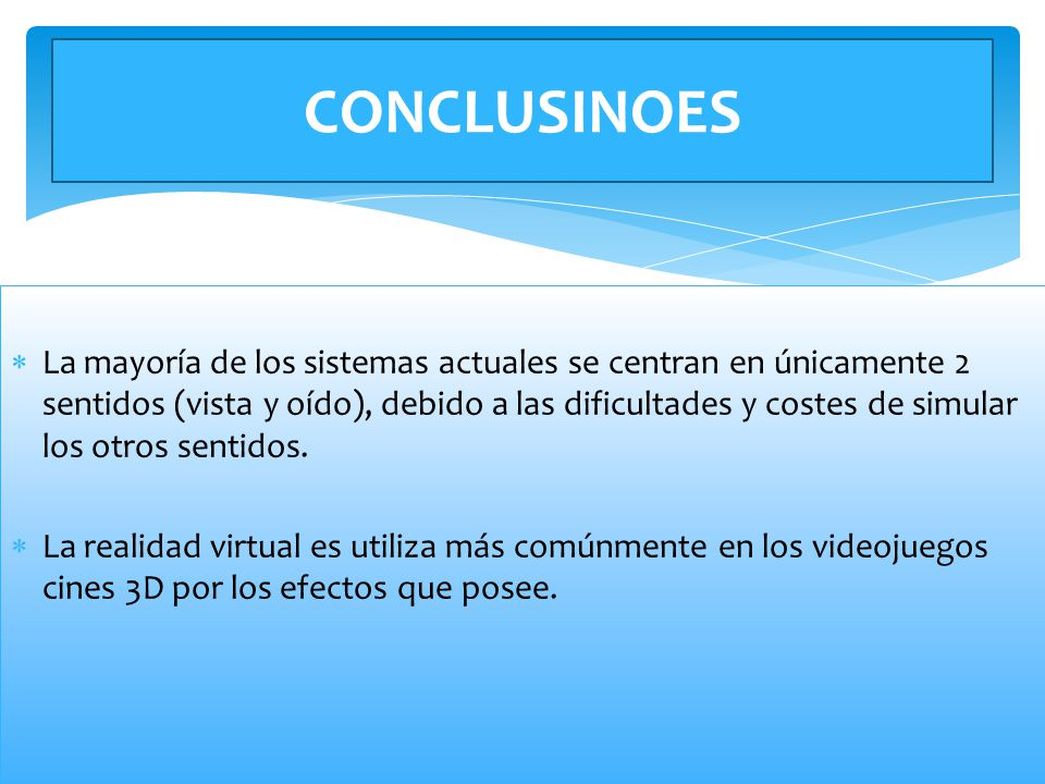 CONCLUSINOES