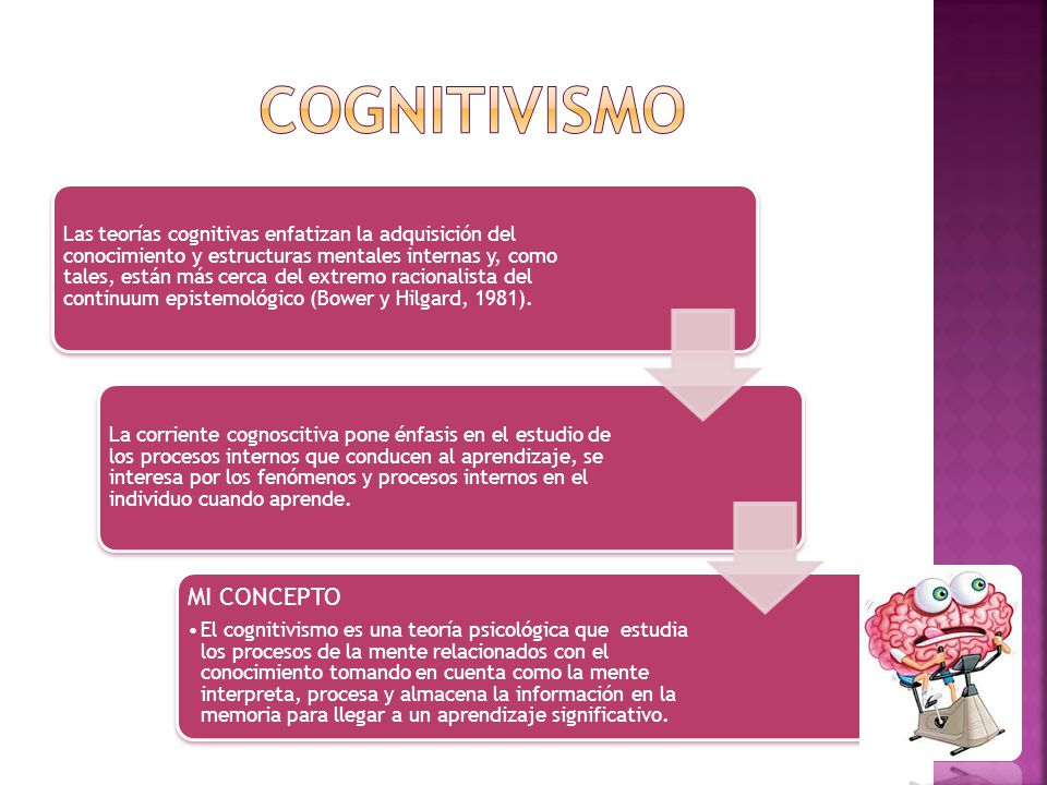 cognitivismo MI CONCEPTO