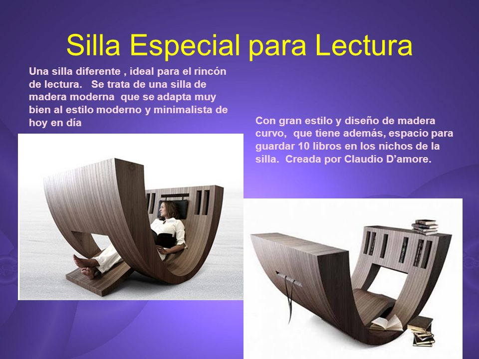 Catalogo de articulos extra os ppt descargar for Sillas para lectura