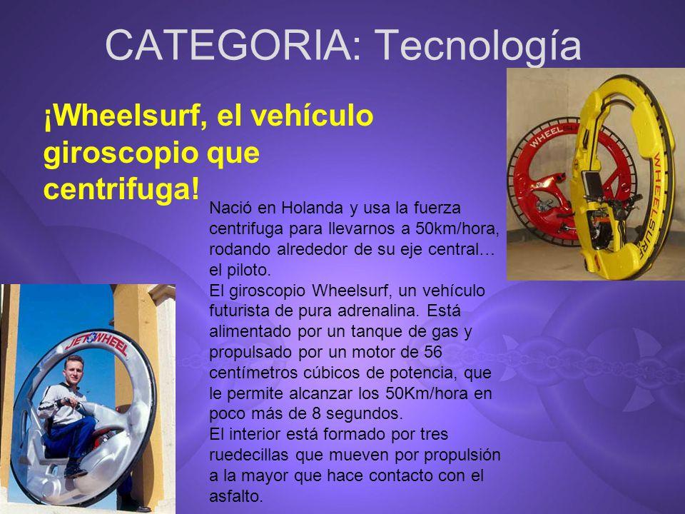CATEGORIA: Tecnología