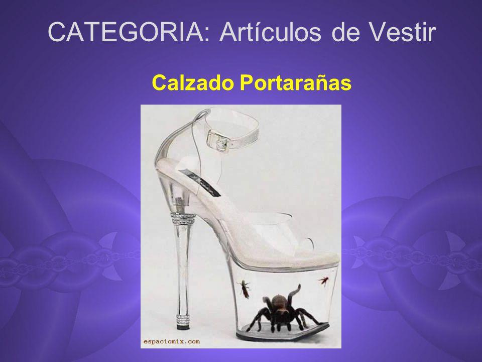 CATEGORIA: Artículos de Vestir