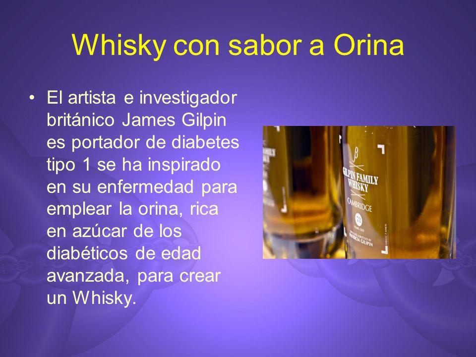 Whisky con sabor a Orina