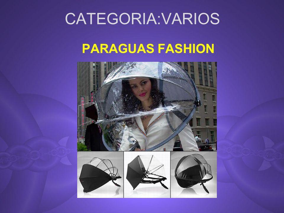 CATEGORIA:VARIOS PARAGUAS FASHION