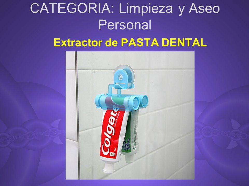 CATEGORIA: Limpieza y Aseo Personal